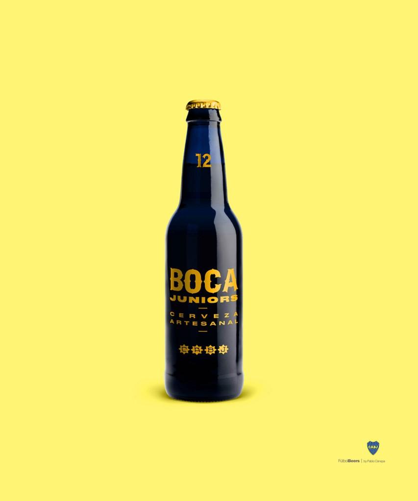cerveza boca junior